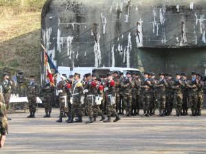 Cérémonie de présentation au drapeau de la formation générale initiale 2016_03